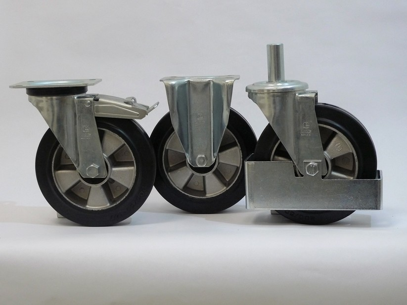 Gamma ruote serie E + supporto S2