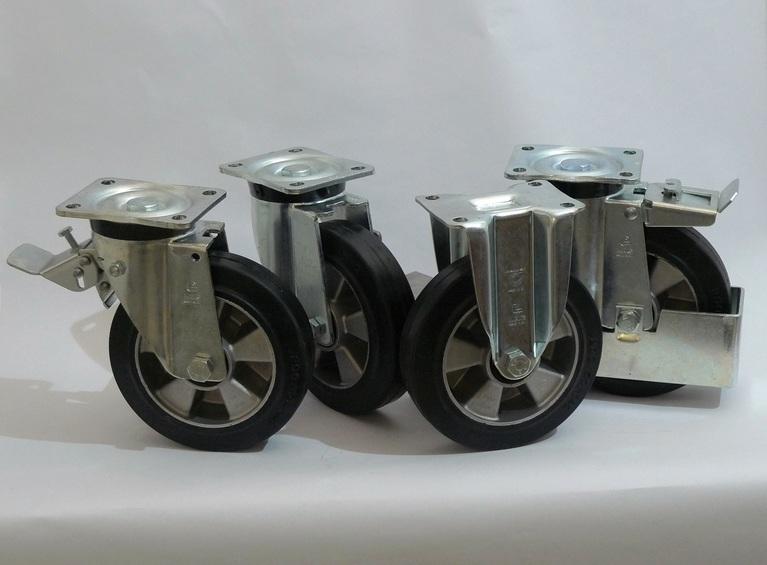 Gamma ruote serie E + supporto S4