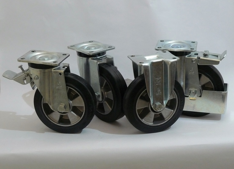 Gamma ruote serie E + supporto S6
