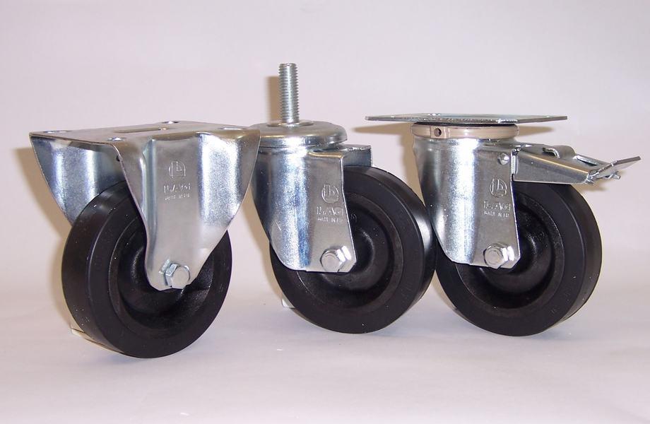 Gamma ruote serie FN + supporto S2