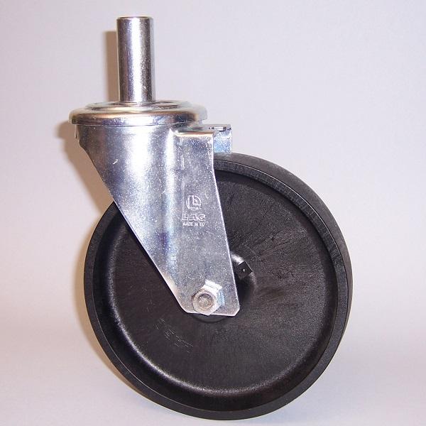 RUOTA FS 100X30 FP SCL M22 22X50(B.PTFE)