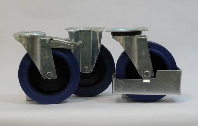 Gamma ruote serie LB + supporto S2