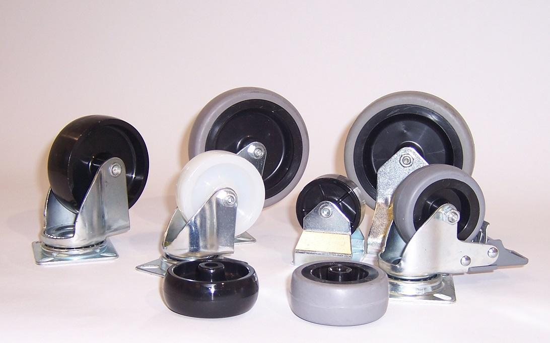Ruote serie M MOBIL - Ruote per mobilio e per arredamento interni.