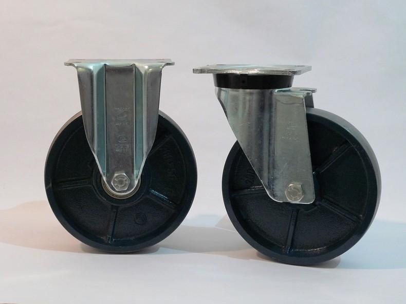 Gamma ruote serie Q + supporto S6