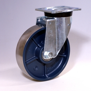 Ruote serie Q con supporto P60 Ruote in ghisa con cuscinetti a sfere o a foro passante. Ruota con cuscinetti a sfere.