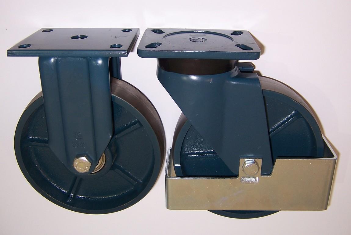 Gamma ruote serie Q + supporto S7