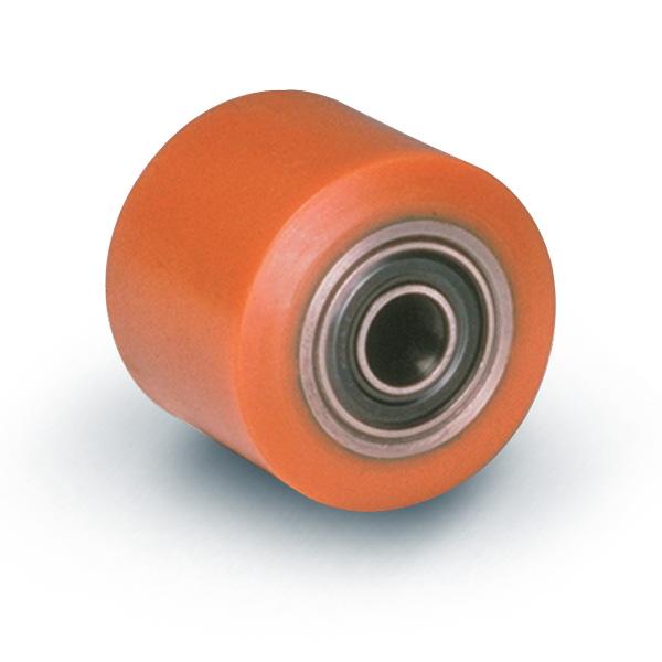 Supporto per ruote P60 - Supporti pesanti in acciaio zincato.