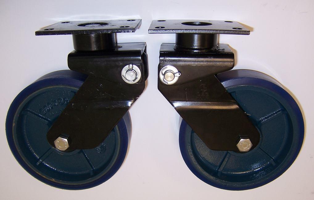 Gamma ruote serie ZS + supporto SM