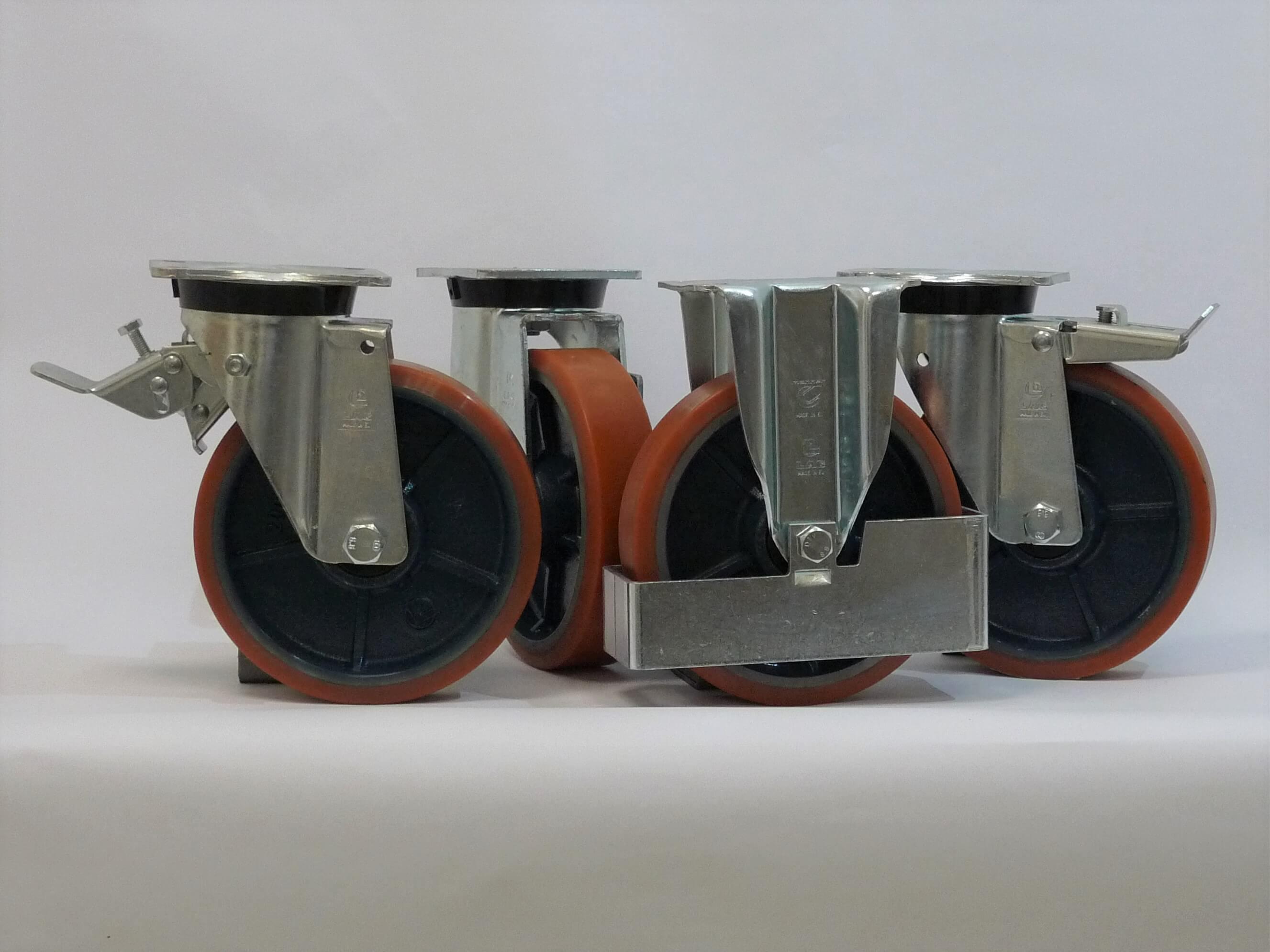 Gamma ruote serie Z + supporto S6