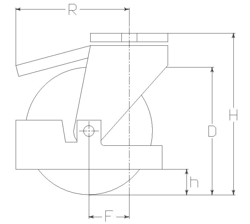 RUOTA Z 200X40 CC SFP M22/60F.14+FR+P.PI