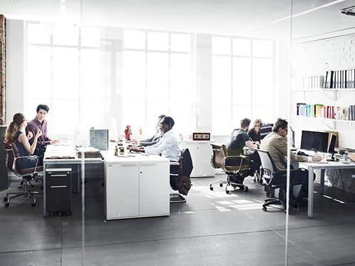 applicazioni ruote LAG per ambienti collettività e uffici
