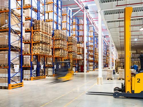 applicazioni ruote LAG per la logistica