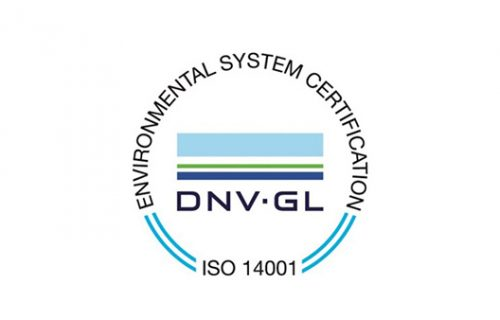 Environmental System Certification DNV GL ISO 14001