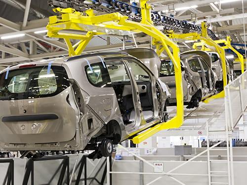 Ruote e supporti LAG per industria automobilistica