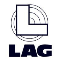 logo LAG bianco e nero