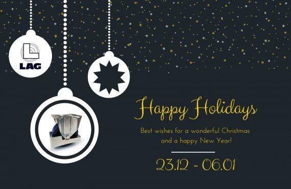 Merry Christmas LAG Wheels and castors